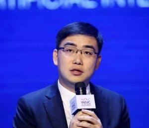 滴滴出行の程維CEO(上海、29日)