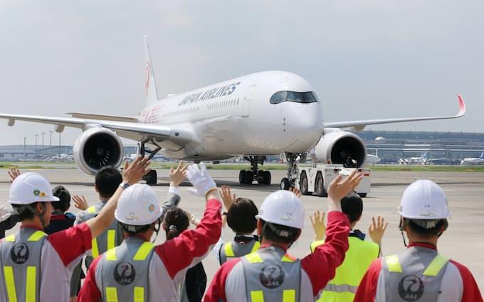 日航、初のエアバス運航 大型機「A350」: 日本経済新聞