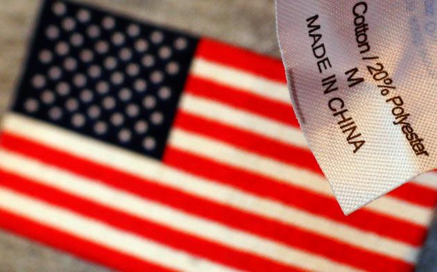 中国の報復関税は今後、米国の家計コスト上昇につながる可能性がある=ロイター
