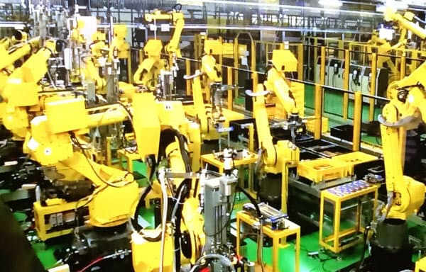 ファナックは本社工場で5Gの実証実験を始める(山梨県忍野村)