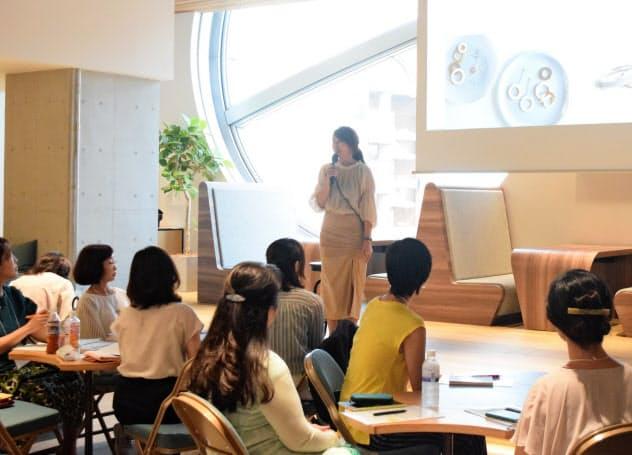 名古屋市は女性起業家育成に向けたセミナーを開く(7月31日、名古屋市中区)