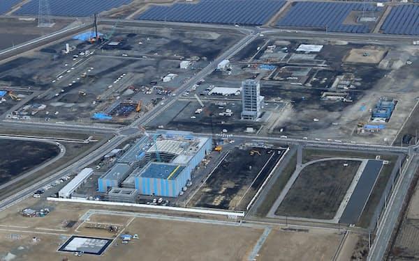 浜通り地方の新産業拠点となる「福島ロボットテストフィールド」(3月、福島県南相馬市)
