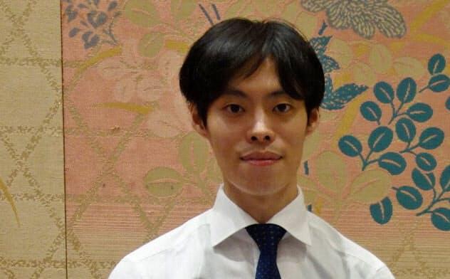 スタートアップ・カタパルトで優勝したファストドクターの菊池亮代表(3日、京都市内)