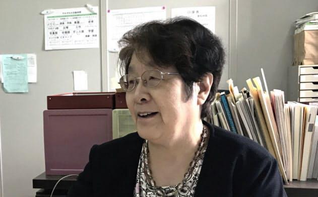 東京シューレ、奥地圭子理事長