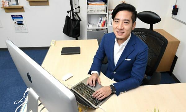 日本を代表するギグエコノミーの仕掛け人、ランサーズ社長の秋好陽介。月収10万円からのスタートだった
