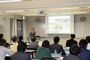 DCMホールディングスが中小企業向けに実施している「事業者向け災害時対応セミナー」(札幌市、5月)