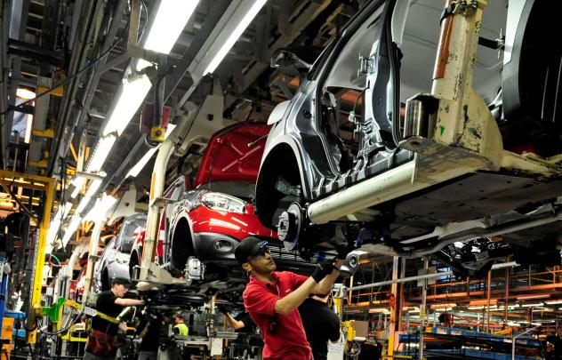 日産は英サンダーランド工場でジュークの新モデルを生産する=ロイター