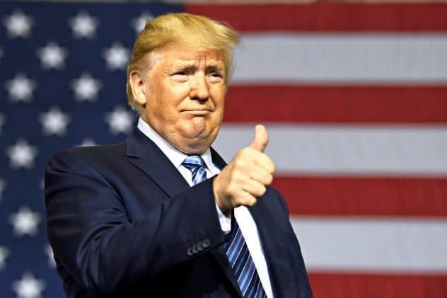 トランプ米大統領は不法移民対策を重要政策に据えている=AP