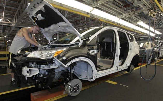 米ケンタッキー州のフォード工場=ロイター