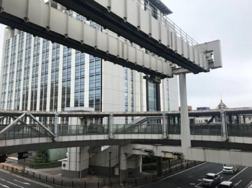 県庁前駅から市立青葉病院前への延伸計画は正式に中止が決まった(県庁前駅、千葉市))