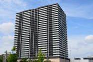 総戸数468戸は東北最大となる(4日、仙台市)