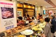北関東初出店の「まつおか」など8ブランドを新規に導入した(4日、宇都宮市の東武宇都宮百貨店)