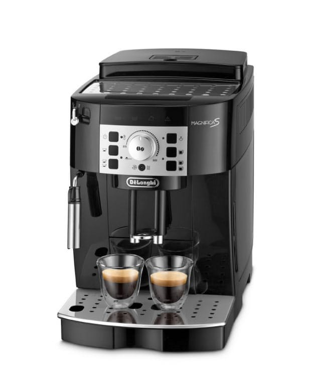 デロンギ・ジャパン(東京・千代田)が発売した「デロンギ マグニフィカS コンパクト全自動コーヒーマシン」