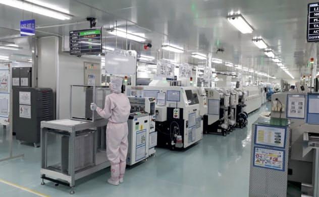 メイコーのベトナム工場ではEMSの受注が増加している