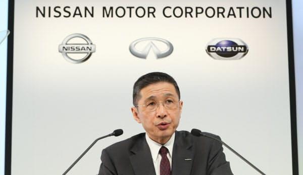 社内規定に違反し役員報酬を上乗せして受け取ったと指摘を受けた日産自動車の西川広人社長