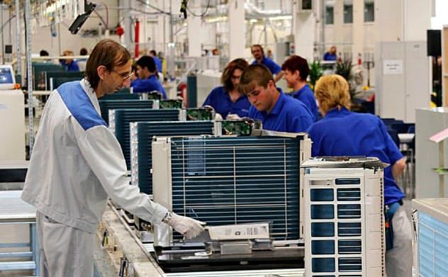 ダイキン工業は欧州でエアコン増産も検討する(チェコ工場)