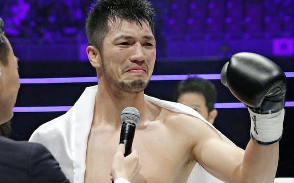 ボクシング世界王者の村田諒太が製品開発に協力している=共同