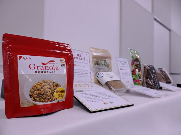 九州健康おやつプロジェクトでは、これまで7商品を開発した