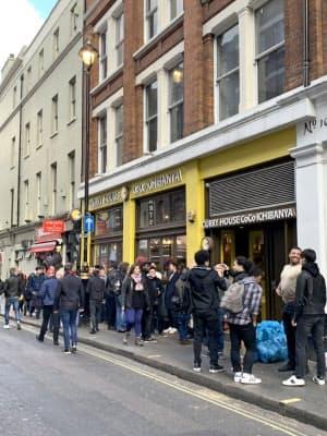 壱番屋はロンドンにカレー専門店を開いた(18年12月)