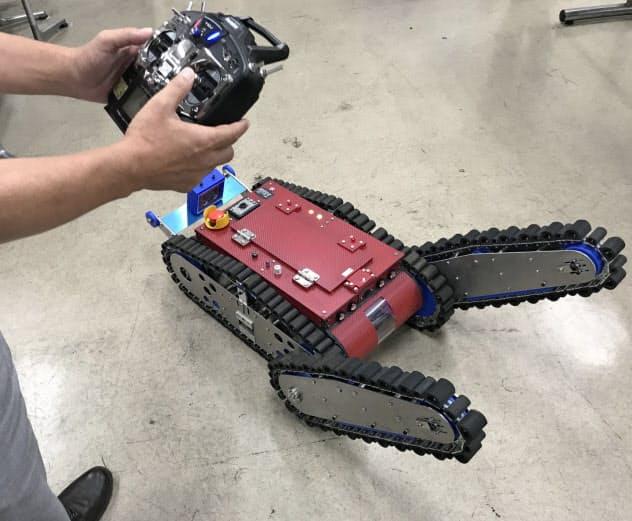 オグラ金属が開発している探査ロボット