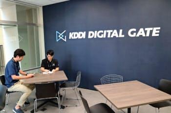 KDDIデジタルゲート沖縄(那覇市)はデジタル時代に対応した企業の新事業をサポートする