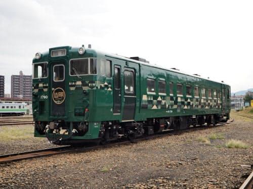 JR北海道の新車両「山明」号は9月中旬にデビューする(6日、札幌市)