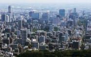札幌市でも液状化などの被害が出た(18年撮影)