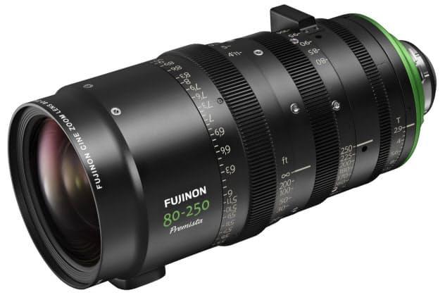 富士フイルムが12月に発売するシネマカメラ用ズームレンズ「FUJINON Premista80―250mmT2.9―3.5」