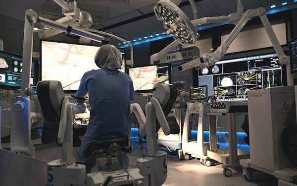 デンソーが開発したソフト「オペリンク」を導入したスマート手術室