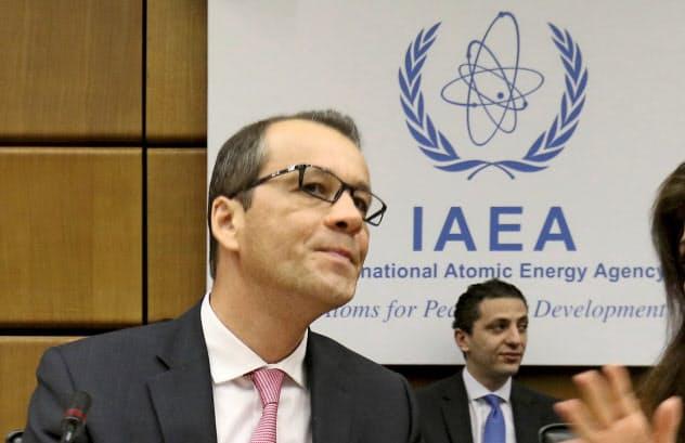 IAEAのフェルータ事務局長代行=AP