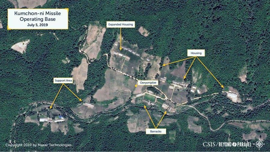 北朝鮮南部にミサイル基地、日本を射程か 米研究所: 日本経済新聞