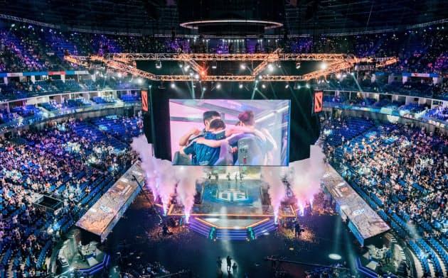 8月に中国・上海で開催された「ザ・インターナショナル2019(TI9)」の賞金総額は約36億円に達した
