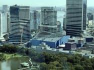 建て替えで最大1500人を収容する劇場を作る(東京・港)