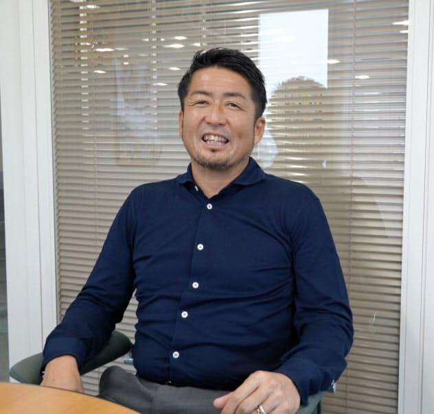 21世紀ニュービジネス協議会の若林会長はフットサルチームの社長も務める