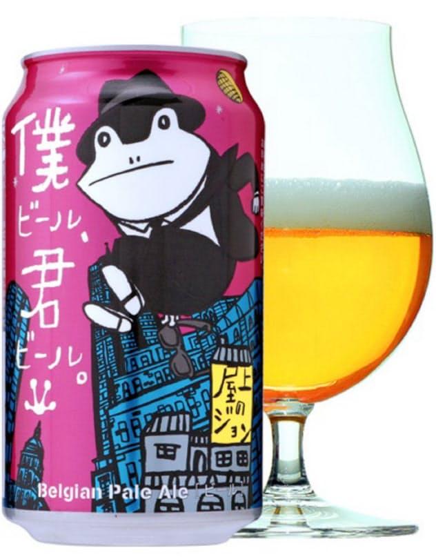 ローソンと開発した新商品はクラフトビール初心者にも飲みやすく、新規顧客の開拓につなげる