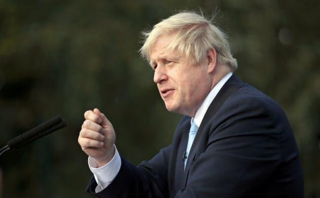 ジョンソン英首相は10月末のEU離脱にこだわる=ロイター