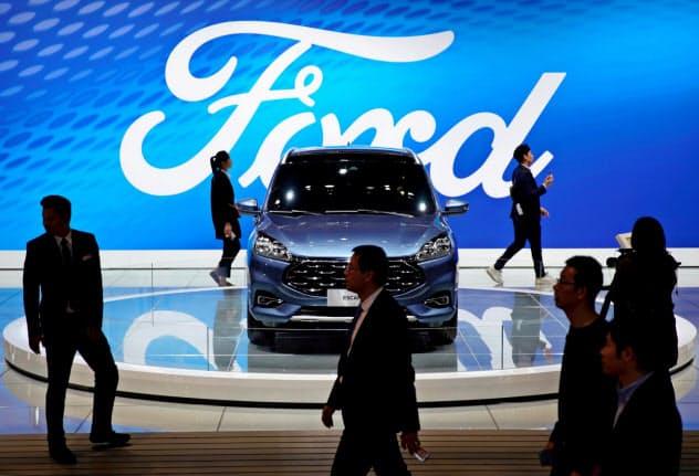 フォードは中国や欧州市場の失速で収益が悪化している=ロイター