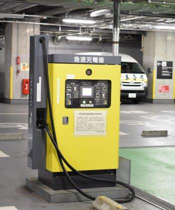 千代田区はEV充電機の整備が進み、環境面での高評価につながった(千代田区役所)