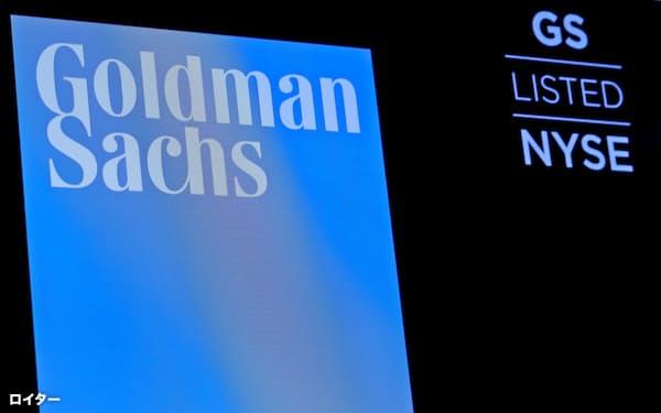 ゴールドマン・サックスは政府高官を相次いで迎え入れている(同社のロゴ)=ロイター