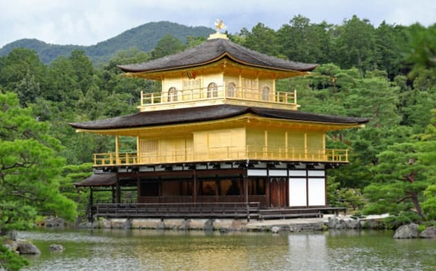 国内の主要都市が持つ特性を評価したランキングで京都市が2年連続で総合1位だった(写真は京都市の金閣寺)