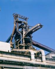 安全が確認されたため高炉も操業を再開した(東日本製鉄所京浜地区)