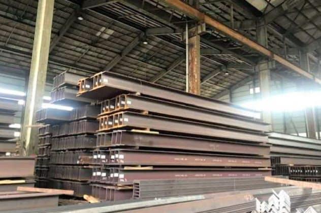 H形鋼の在庫が3カ月連続で減少した