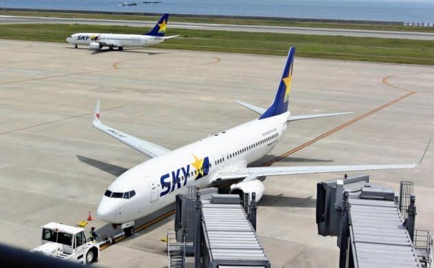 2019年度の旅客数は過去最高の348万人を計画する(神戸空港)