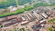 住商が株式を追加取得した米国スタンダード・スチールの工場