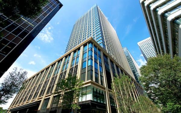 三菱地所は50年債で長期資金を調達(東京都千代田区の丸の内二重橋ビル)