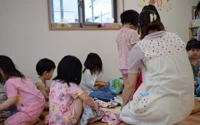10月から給食は全額が実費負担になる(仙台市内の保育所)