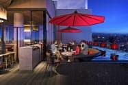 最上階に入る日本初上陸のレストラン「セラヴィ」(写真はイメージ)