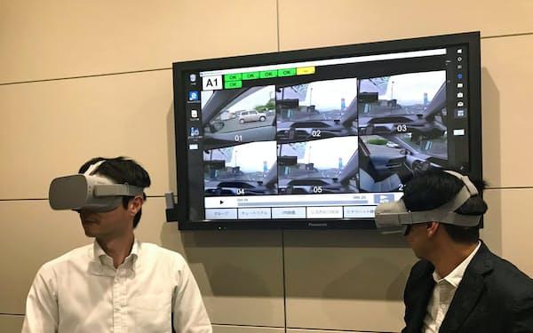 運転者目線の実写映像を使うため、前後左右の安全確認がよりリアルに体験できる