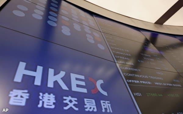 香港取引所はロンドン証券取引所の買収を提案した=AP