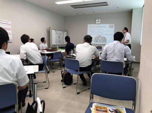 マネジメントゲーム研修を後継者育成につなげる(松山市内)